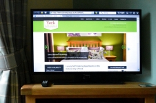 Browse the internet or check your e-mail on our Smart TVs